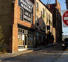 cobbled streets of the past cockcade alley petersburg va by RDRAKEPERKINSON