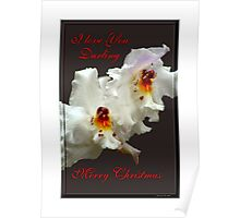 I Love You Darling - Merry Christmas Poster