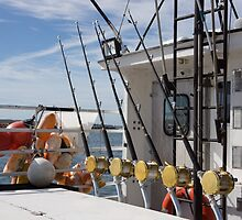 Fishing rods by Anne Scantlebury