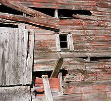 Barn windows by Anne Scantlebury