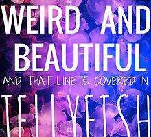 WEIRD AND BEAUTIFUL JELLYFISH by Rebecca Manion