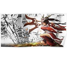 League Of Legends Blood Moon Akali  Poster