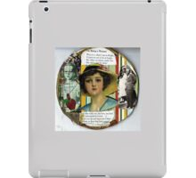 On Being A Woman iPad Case/Skin