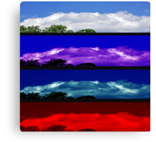 Attitudes of the Sky Canvas Print