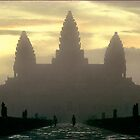 Angkor Dawn by MarkStanden