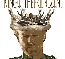 Ser Jorah - King of the Friendzone by Vendicci
