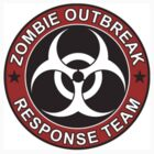 ZOMBIE RESPONSE TEAM 3 color by thatstickerguy
