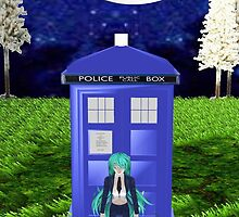 Dr Pluto and the Tardis outfit 2 by LokiLaufeysen