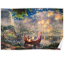 Disney Tangled Disney Rapunzel Floating Lanturns  Poster