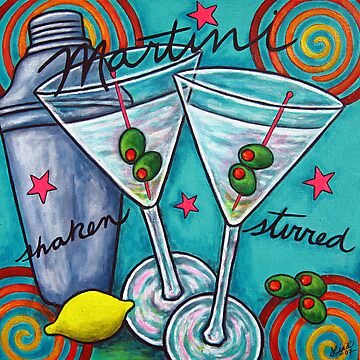 Retro Martini by LisaLorenz
