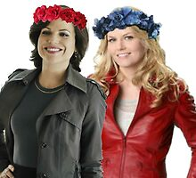 Swan Queen Flower Crowns by swenfordays