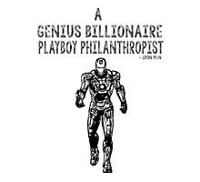 Avengers Iron Man Photographic Print