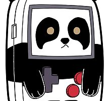 Game Boy Panda by 57MEDIA