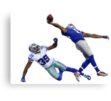 O'dell Beckham Jr. Canvas Print