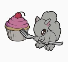 Little Squirrel with a Cupcake Kids Clothes