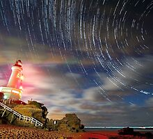 Star Trails Photography By James Collier by James Collier