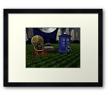 time travellers reunion Framed Print