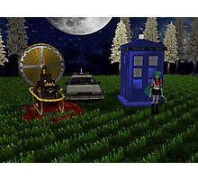 time travellers reunion Photographic Print