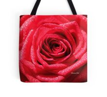 Dressed for a Party ~ Glittering Rose Tote Bag
