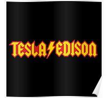 Tesla/Edison vs. AC/DC (Monsters of Grok) Poster