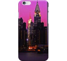 THE UNITED NATIONS AND CHRYSLER BUILDING iPhone Case/Skin