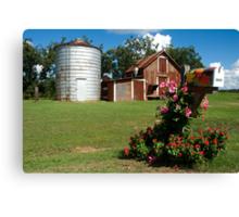 Flower Mail Canvas Print