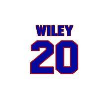 Basketball player Morlon Wiley jersey 20 Photographic Print