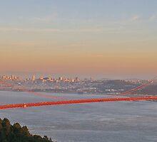 Golden Gate - Sunset by Paul Gilbert