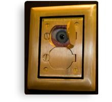 Electric Eye Canvas Print