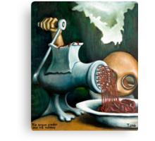 The organ grinder and his monkey Metal Print