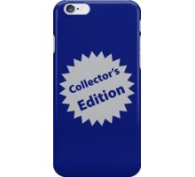 Collector's Edition iPhone Case/Skin