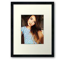 Zoe Sugg Framed Print