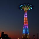 CONEY ISLAND'S PARACHUTE JUMP by KENDALL EUTEMEY