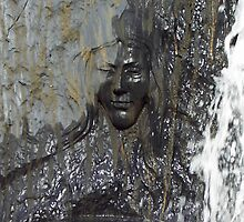 The Lady in the Fountain by Angeleah Hoeppner