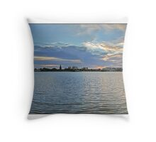 Old Swan Brewery  Throw Pillow