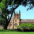 Sydney's St Mary's Cathedral by Jaroadie