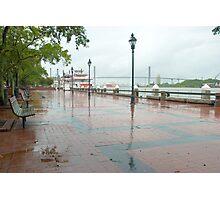 River Street, Savannah Photographic Print
