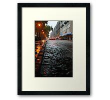 River Street, Savannah 2 Framed Print