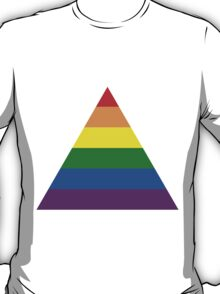 LGBT triangle flag T-Shirt