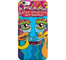 Give presents not bombs iPhone Case/Skin