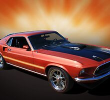 Mach 1 Mustang by Keith Hawley