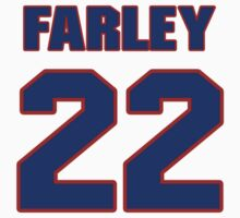 Basketball player Dick Farley jersey 22 by imsport