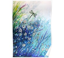 Dainty Daisies Poster