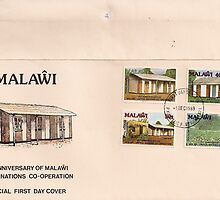 Malawi First Day Postage by Patrick Ronan