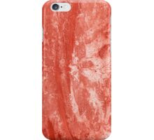 Red Colored Paper 2 iPhone Case/Skin