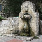 Ancient Fountain in Medieval French Village by creativetravler
