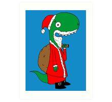 RÖH - Weihnachtsmann Art Print
