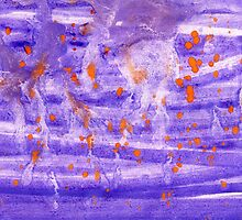Violet Painted Background 4 by AnnArtshock