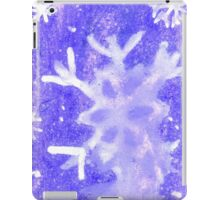 Violet Painted Background 2 iPad Case/Skin