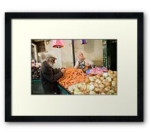 The Exchange Framed Print
